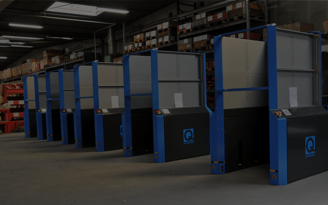 Post Danmark – Taulov Pakkecenter optimerer palleflowet og arbejdssikkerheden med elektriske pallemagasiner