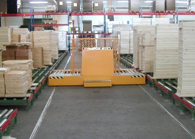 Intermediate storage