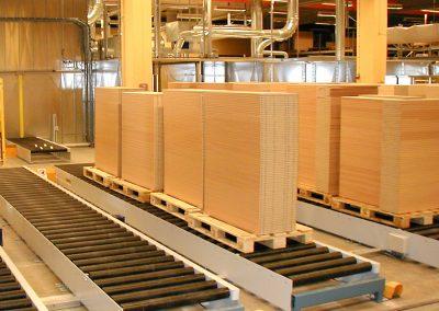 Pallebaner i møbelproduktion
