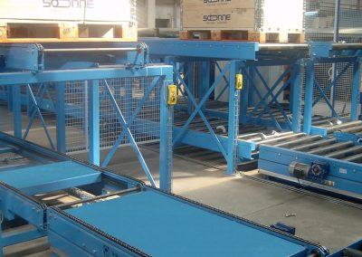 Conveyor racks