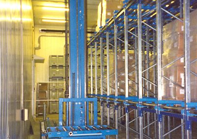 Q-System loader i fryselager