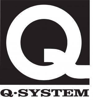 Logo mit weisser
