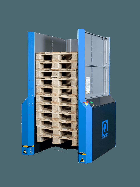 PallEvator Q1 med sikkerhedsoverbygning2
