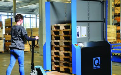 Top 8 advantages of a PallEvator pallet dispenser from Q-System