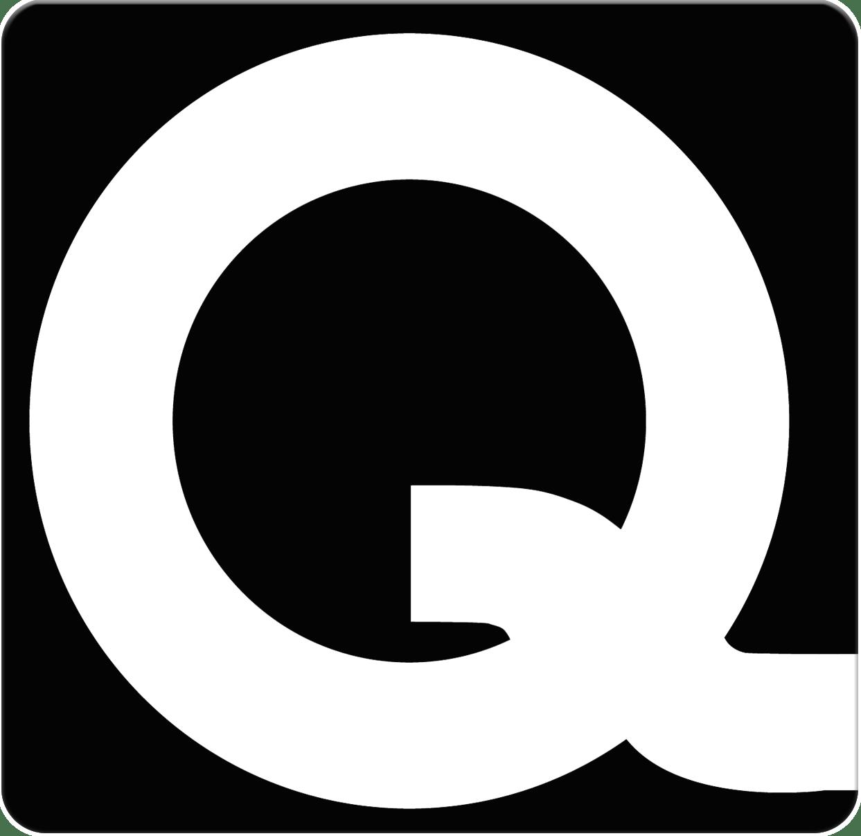 Q-System logo runde hjørner
