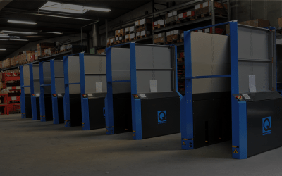 The Danish Postal Service optimizes their pallet flow and work safety with electrical pallet dispensers from Q-System