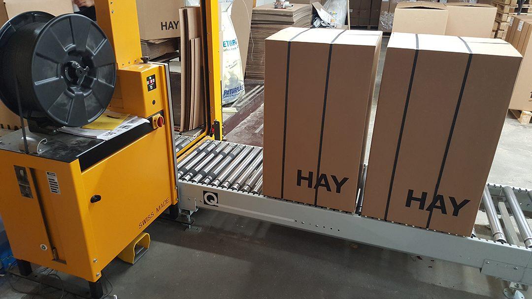 En Hay stols første rejse – et samarbejde mellem Kvist Industries og Q-System