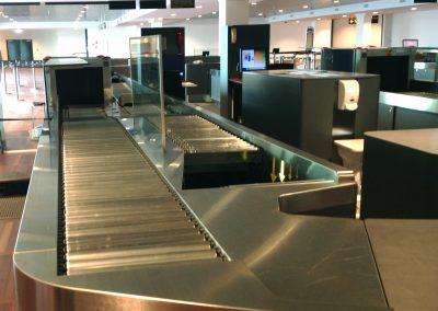 Security check i Københavns lufthavn