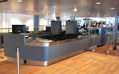 New Security Check-ins at The Copenhagen Airport